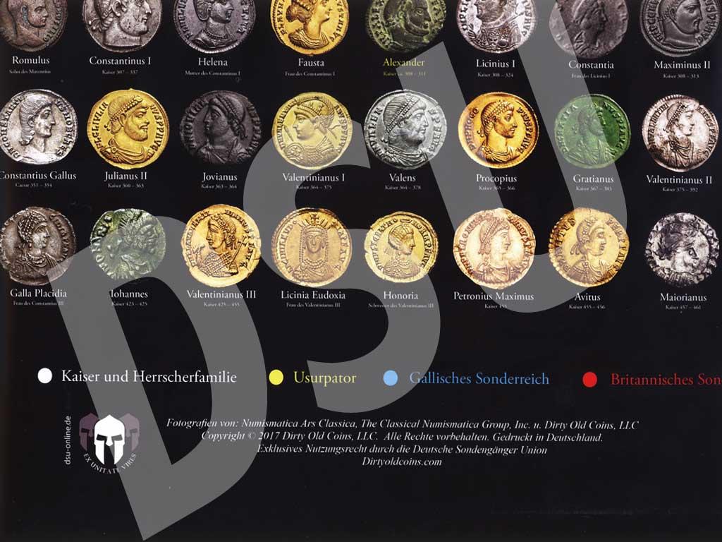 Dsu Plakat Die Münzen Der Römischen Kaiserzeit Deutsche